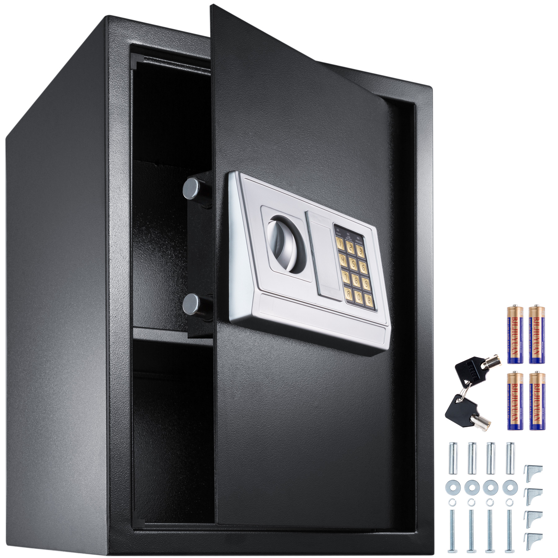 elektronischer safe tresor 50x35x34 5 geldschrank wandtresor wandsafe ebay. Black Bedroom Furniture Sets. Home Design Ideas
