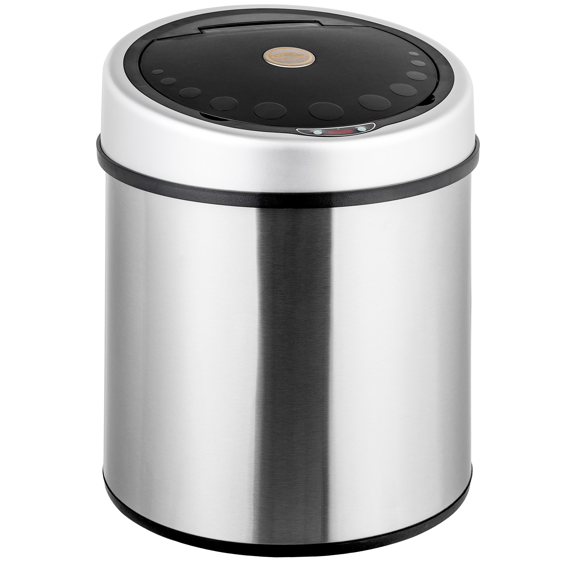 automatic sensor dust bin kitchen waste stainless steel. Black Bedroom Furniture Sets. Home Design Ideas
