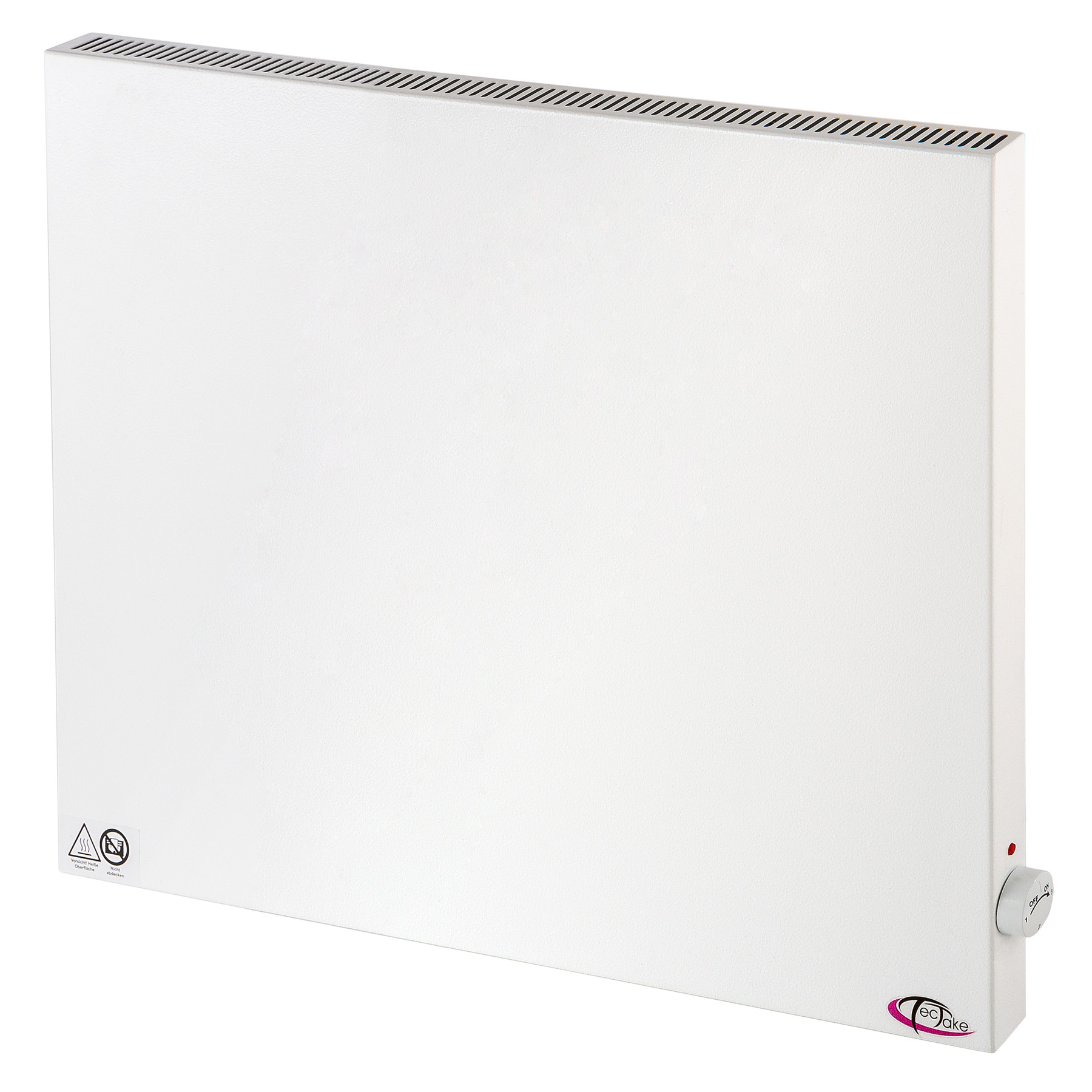 Radiateur lectrique chauffage infrarouge radiant for Chauffage radiant mural