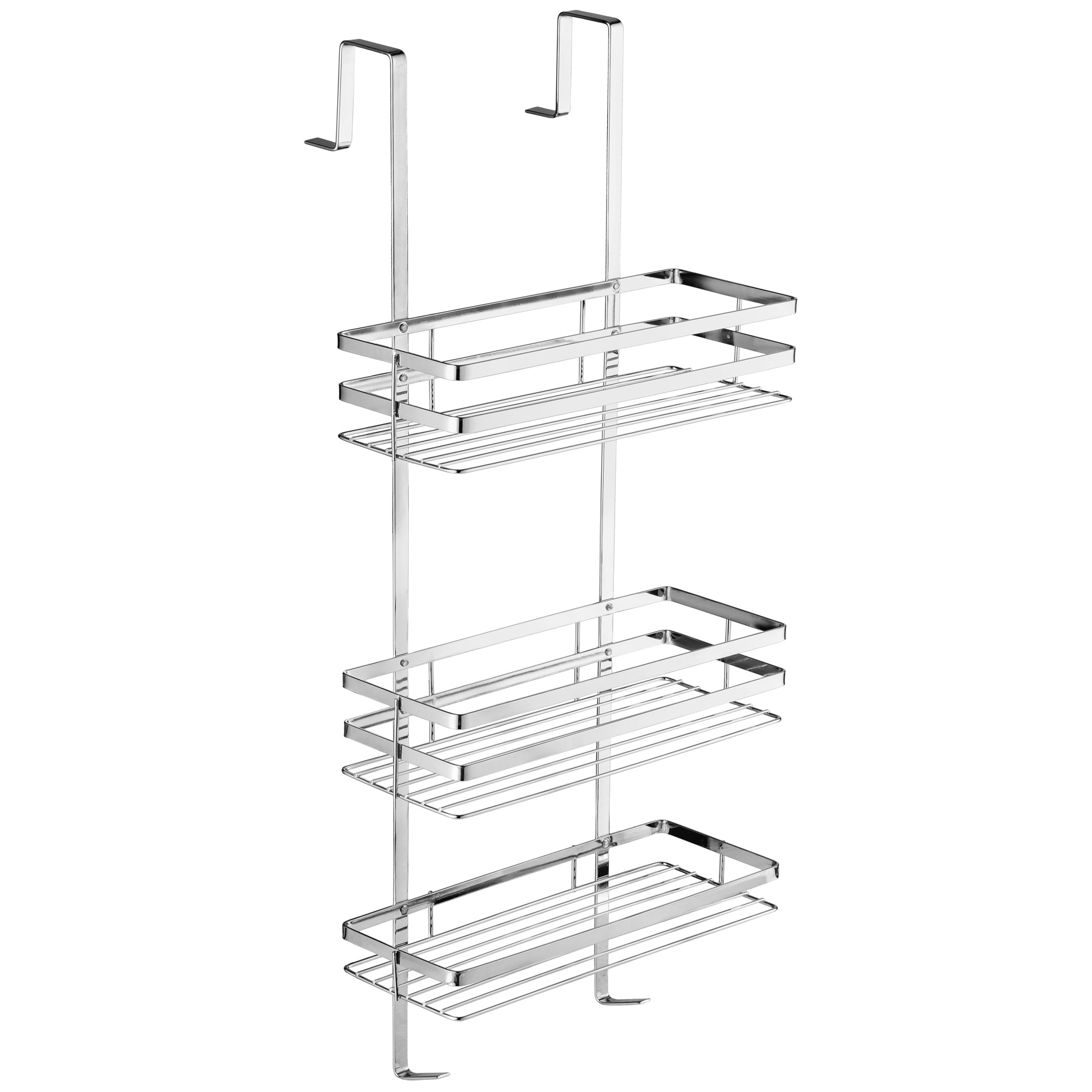 3 Tier Stainless Steel Hanging Shower Bathroom Caddy Shelves Storage Shelf Ebay