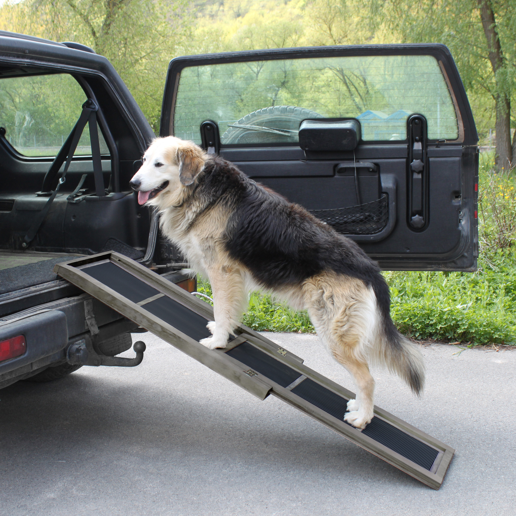 how to build a dog ramp for the car