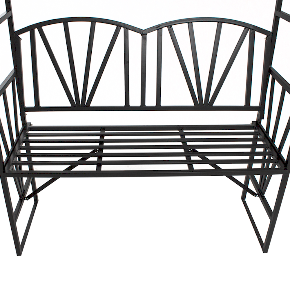 garden rose arch trellis climbing plants roses with bench pergola garden bench ebay. Black Bedroom Furniture Sets. Home Design Ideas