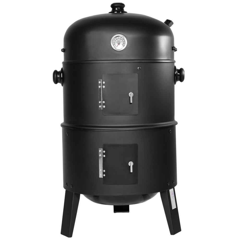 3in1 bbq charcoal grill barbecue smoker rokersgrill barbecue ...