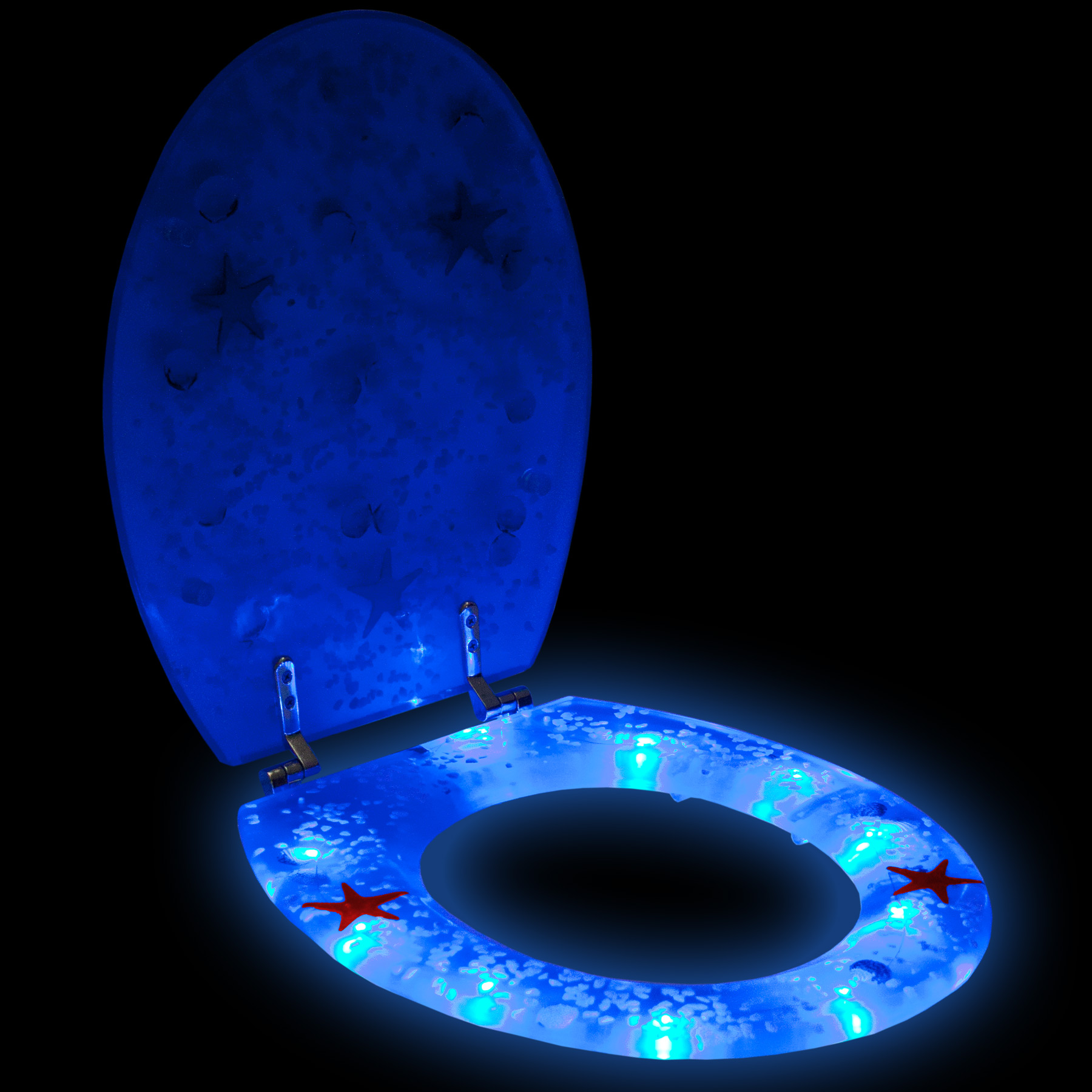led toilet cover 3d lavatory seat toilet seat toilet seat cover toilet cover ebay. Black Bedroom Furniture Sets. Home Design Ideas