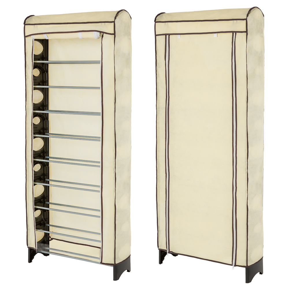Tag res chaussures armoire placard meuble rangement for Housse rangement chaussures