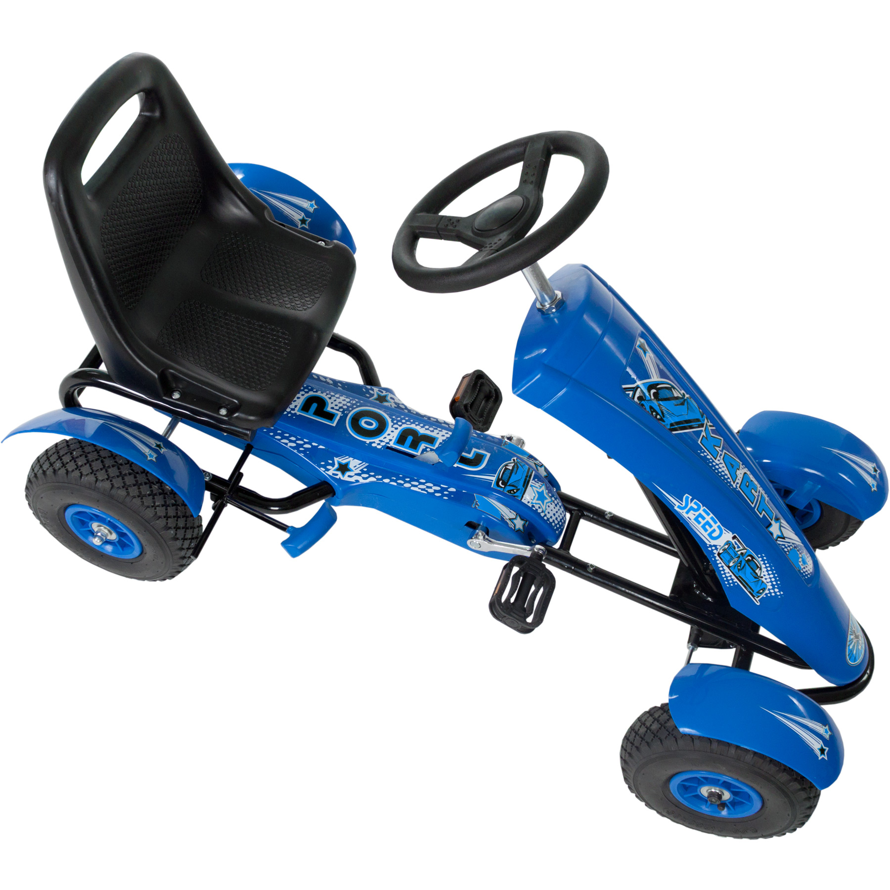 go kart pedales karting p dales pour enfants kart gokart bleu ebay. Black Bedroom Furniture Sets. Home Design Ideas