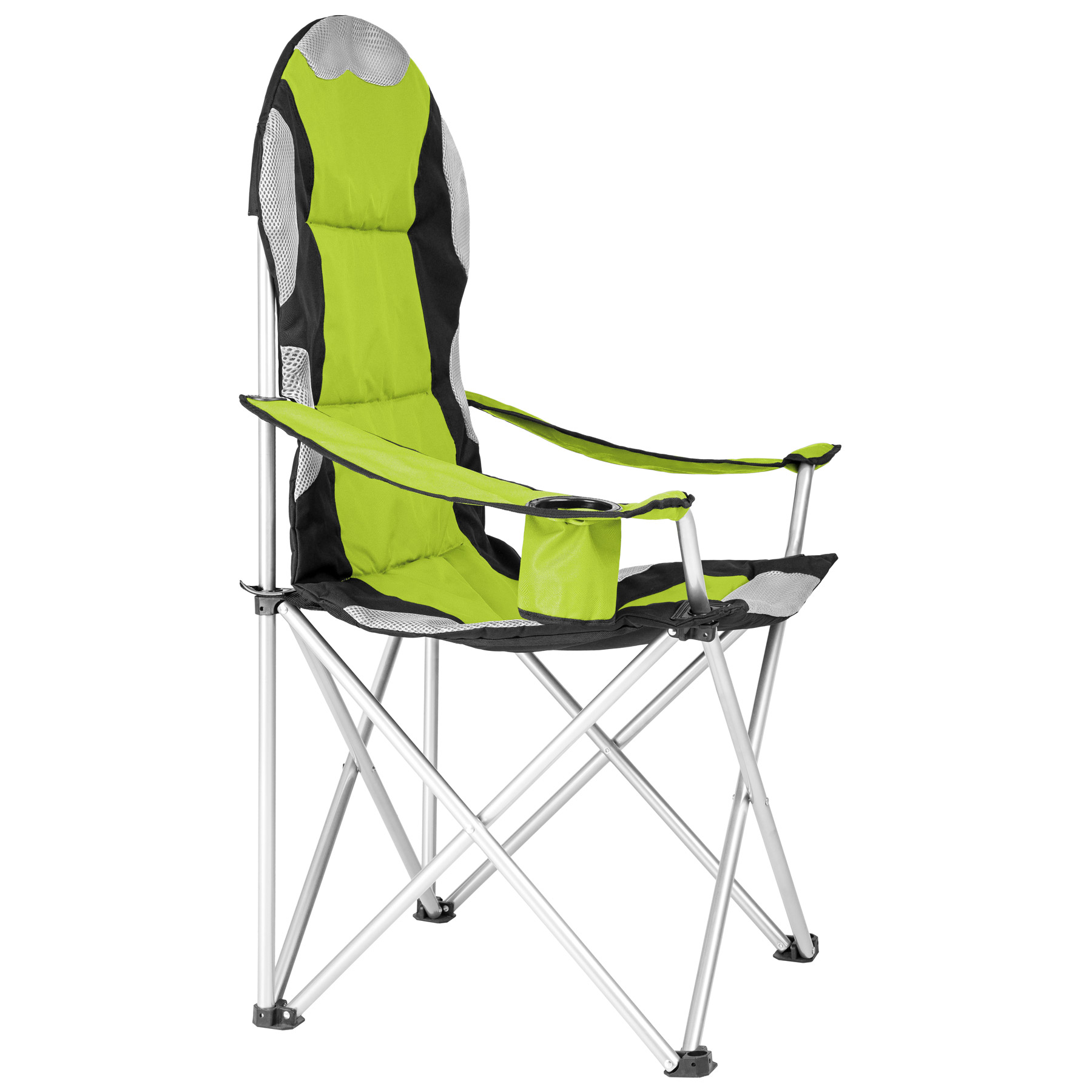Heavy Duty Royal Padded Folding Camping Directors Chair With Cup Holder Porta