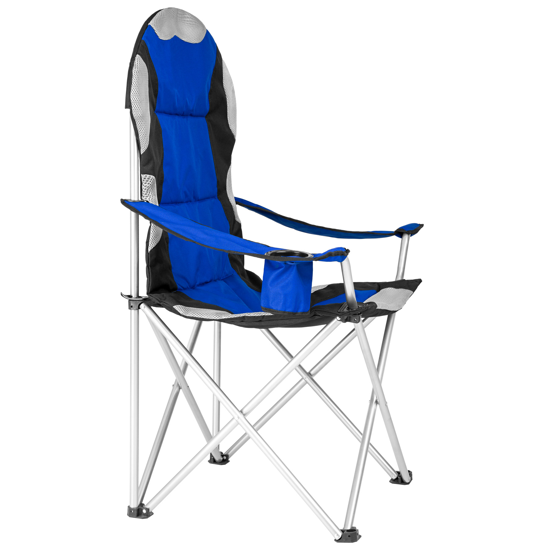 heavy duty royal padded folding camping directors chair. Black Bedroom Furniture Sets. Home Design Ideas