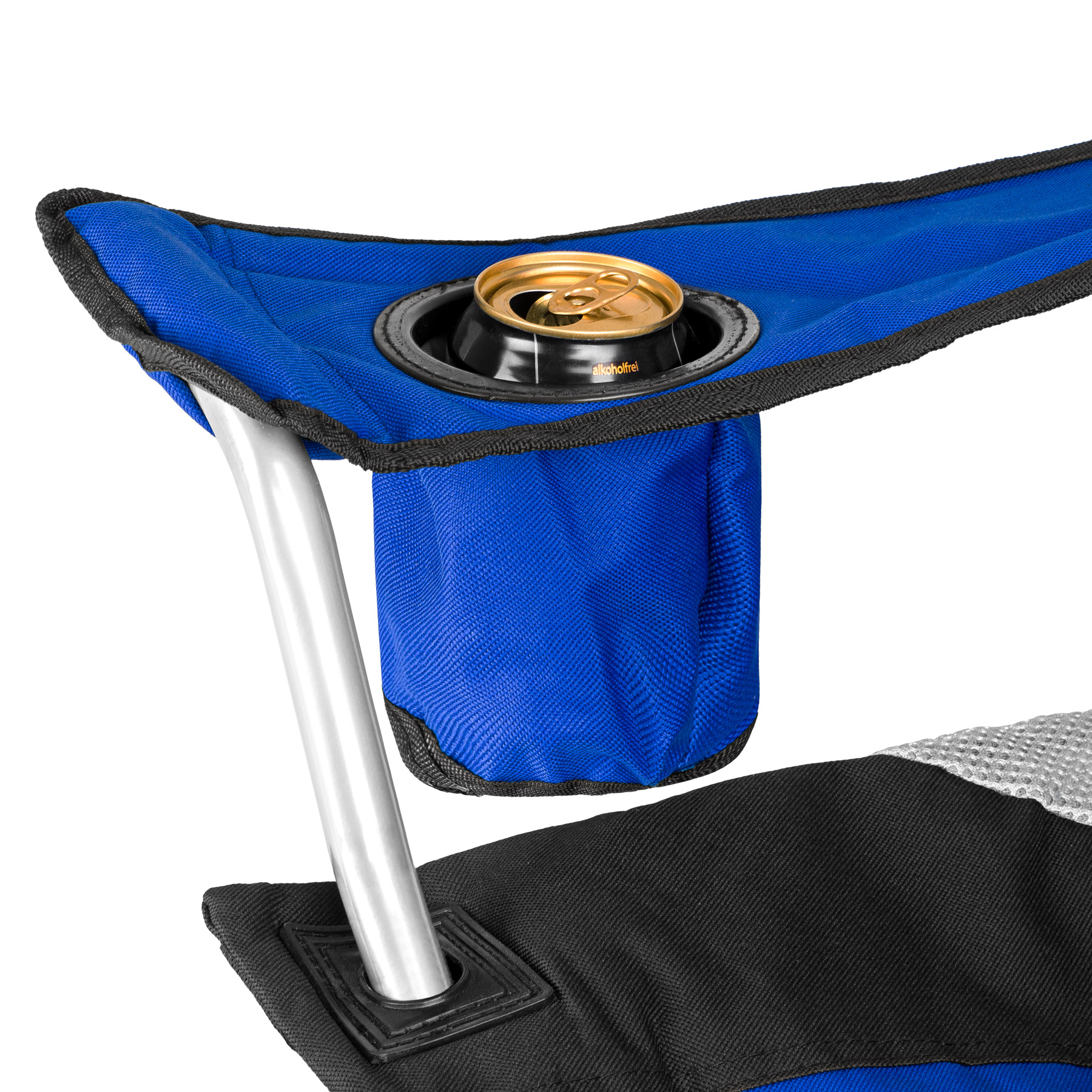 Luxury Padded Camping Chair with Drink Pocket