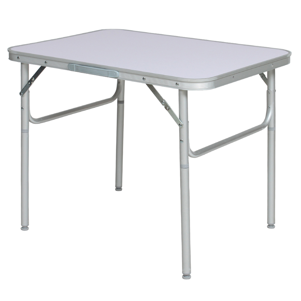 Aluminium folding portable camping table small picnic - Table ronde aluminium ...