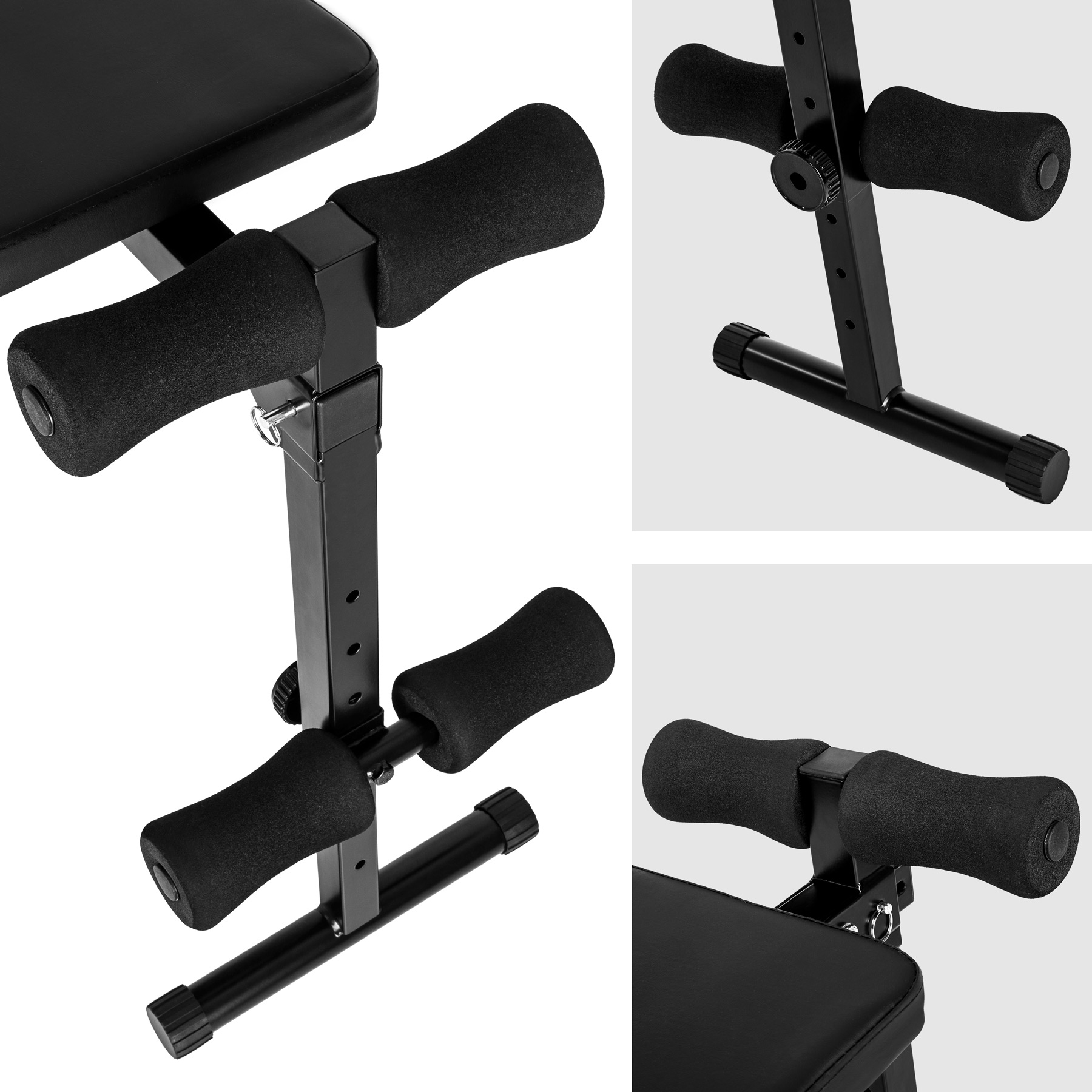 banc de musculation pour muscles abdominaux appareil de fitness sport pliable ebay. Black Bedroom Furniture Sets. Home Design Ideas