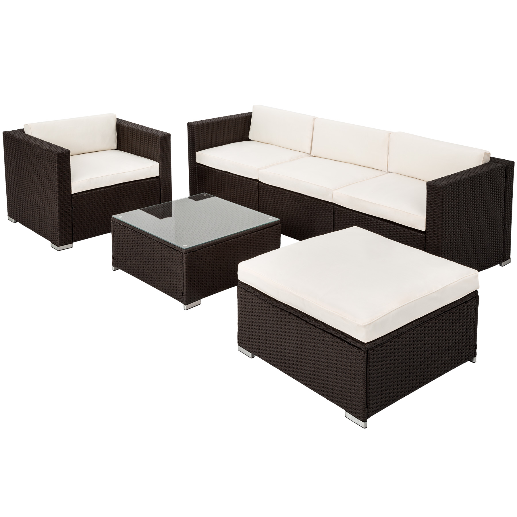 Luxury aluminium rattan garden furniture sofa set wicker Most expensive outdoor furniture
