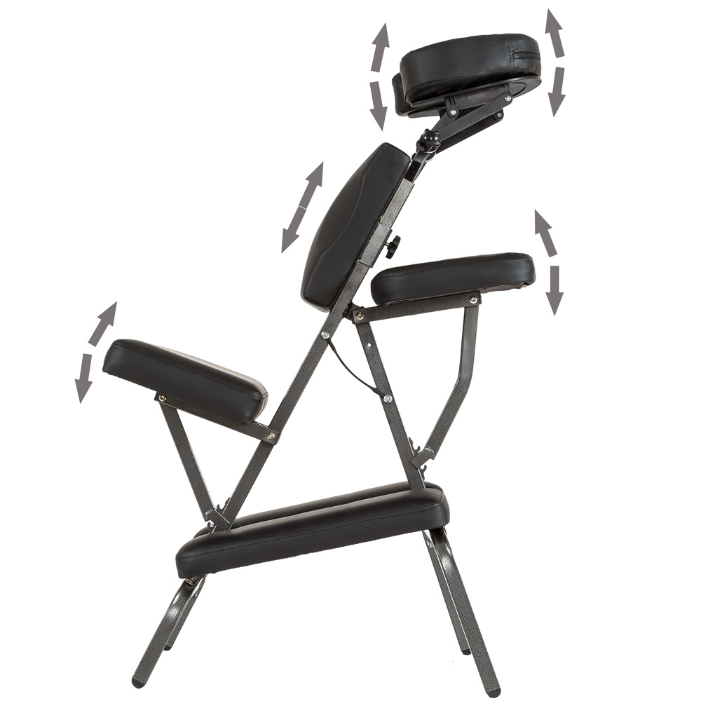 Portable Folding Massage Tattoo Chair Therapy Beauty Stool