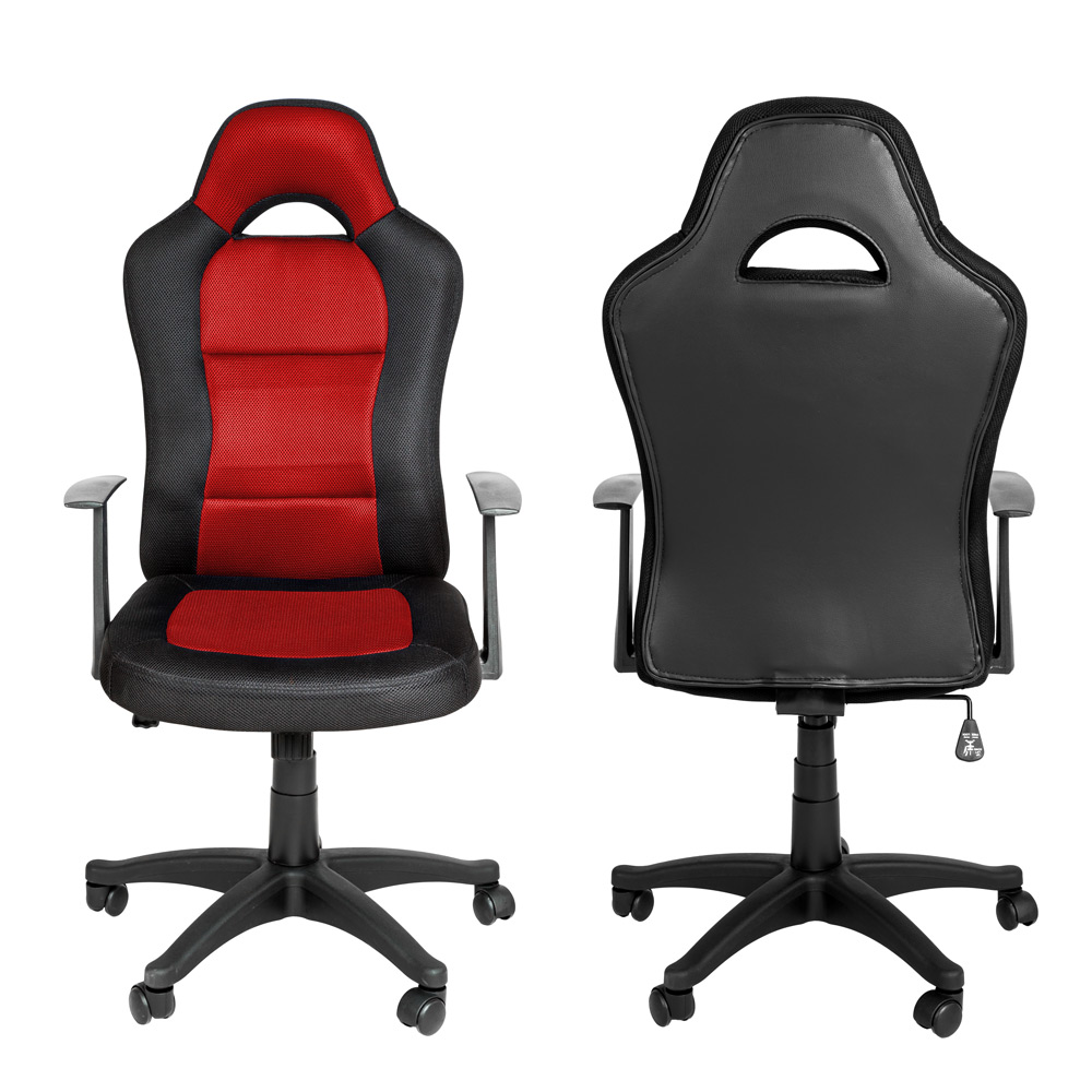 chaise fauteuil si ge de bureau racing sport tissu baquet voiture ebay. Black Bedroom Furniture Sets. Home Design Ideas