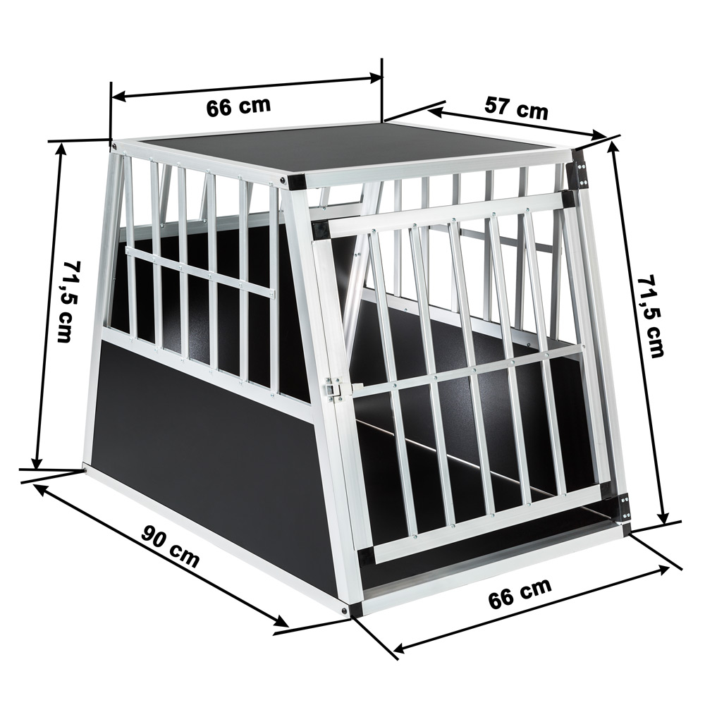 cage box caisse de transport voyage pour chien mobile. Black Bedroom Furniture Sets. Home Design Ideas
