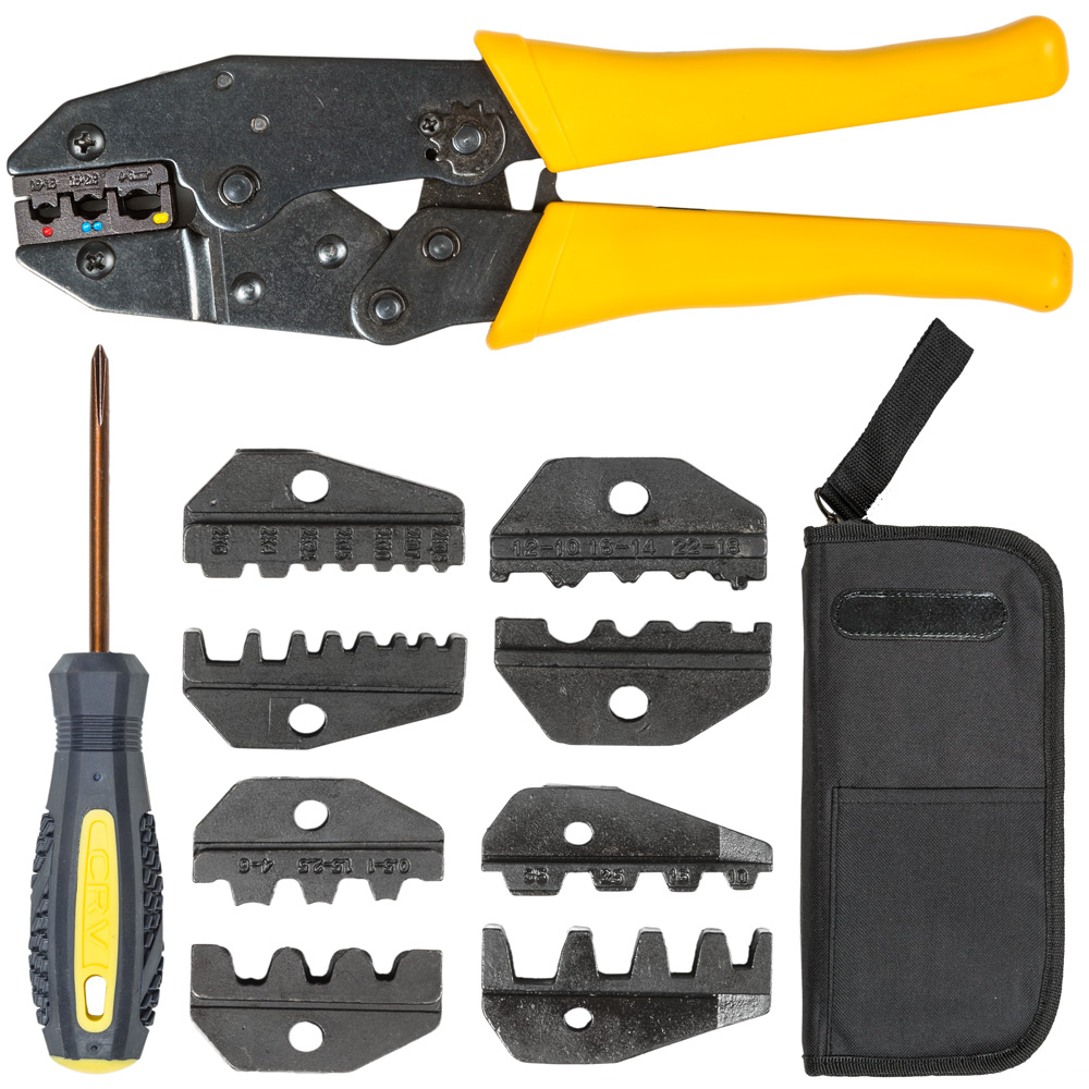 Crimping Tool Cable Wire Stripper Pliers Electrical