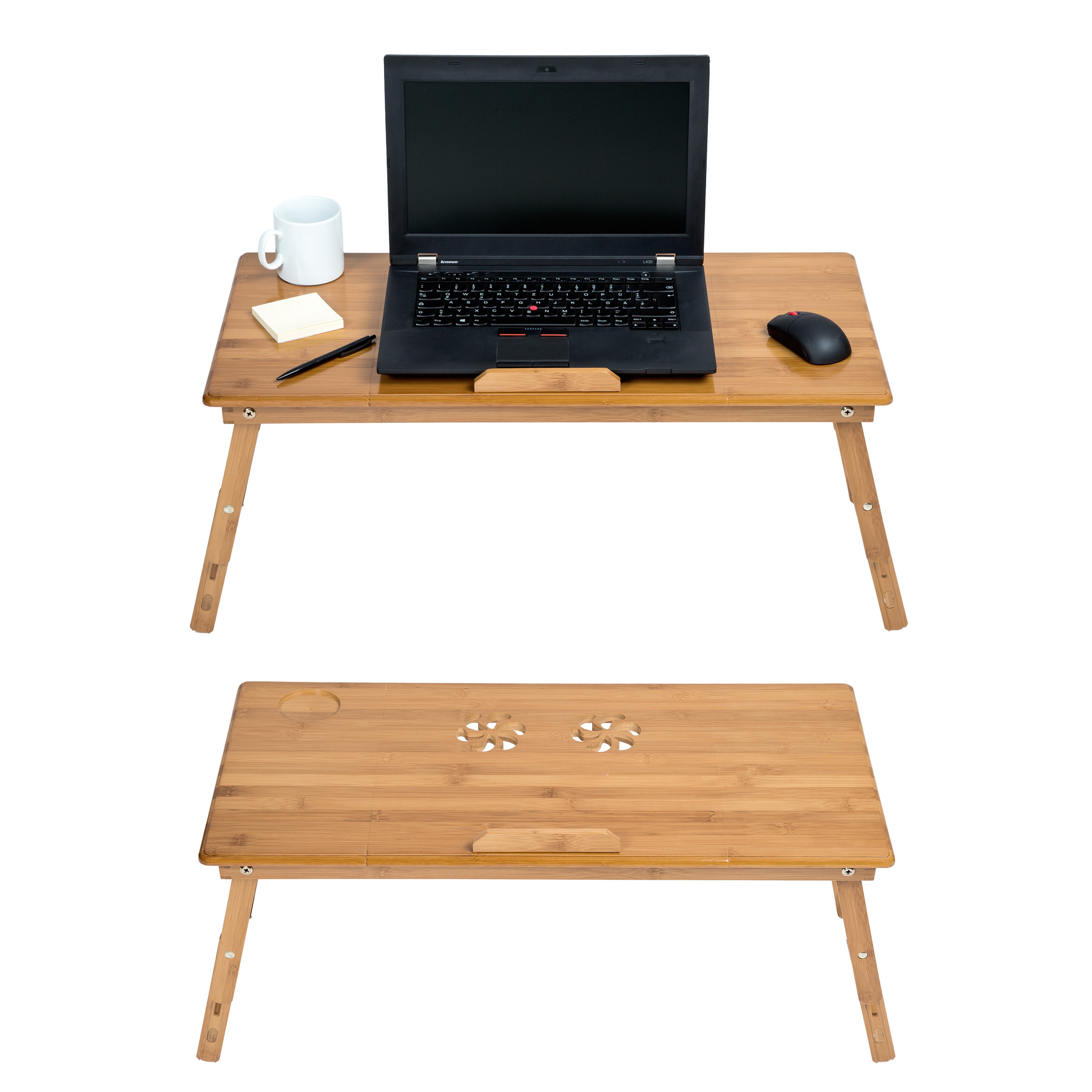Table de lit pliable pour pc portable notebook tablet - Table de lit pour ordinateur portable ...