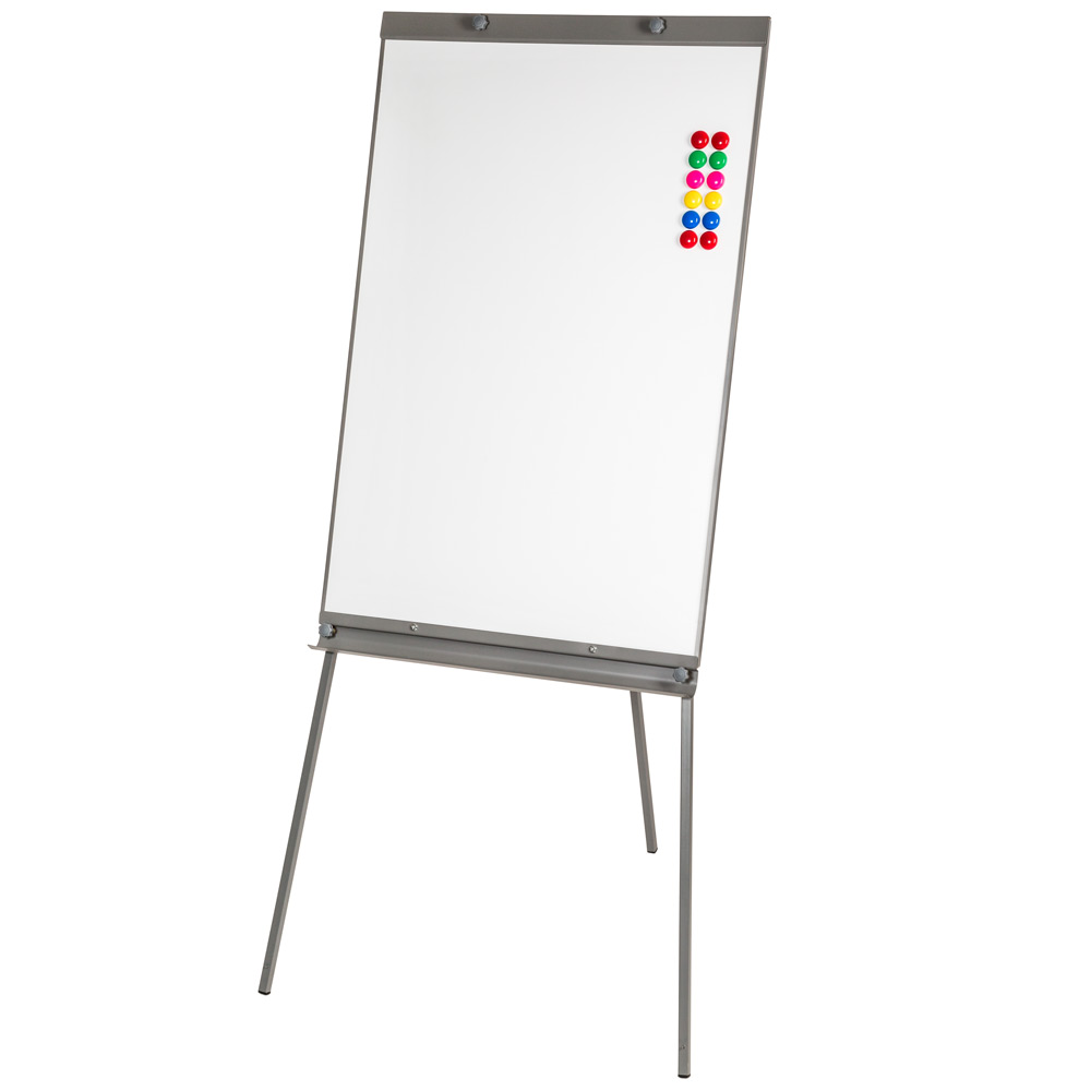 Magnetic flip chart free standing whiteboard presentation - Tableau blanc effacable pas cher ...