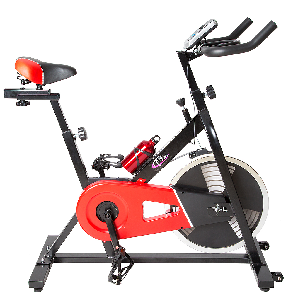 Velo d appartement indoor biking assis fitness ergometre cardio gym ordinateu - Velo assis d appartement ...