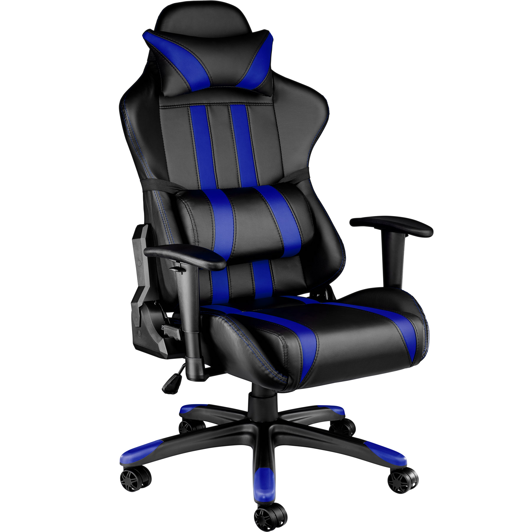 office chair executive racing gaming car seat back support faux leather ebay. Black Bedroom Furniture Sets. Home Design Ideas