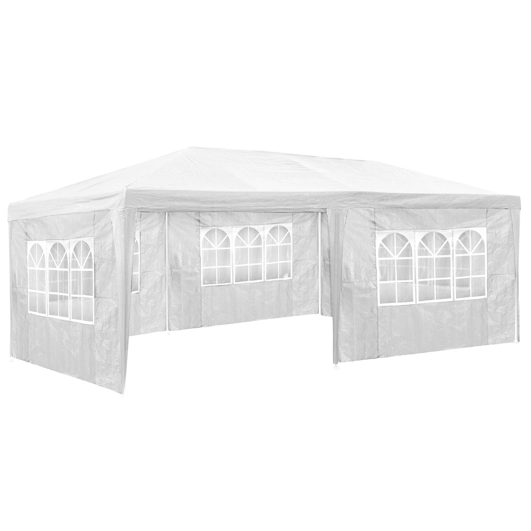 pavillon 3x6m wei partyzelt gartenzelt festzelt zelt. Black Bedroom Furniture Sets. Home Design Ideas