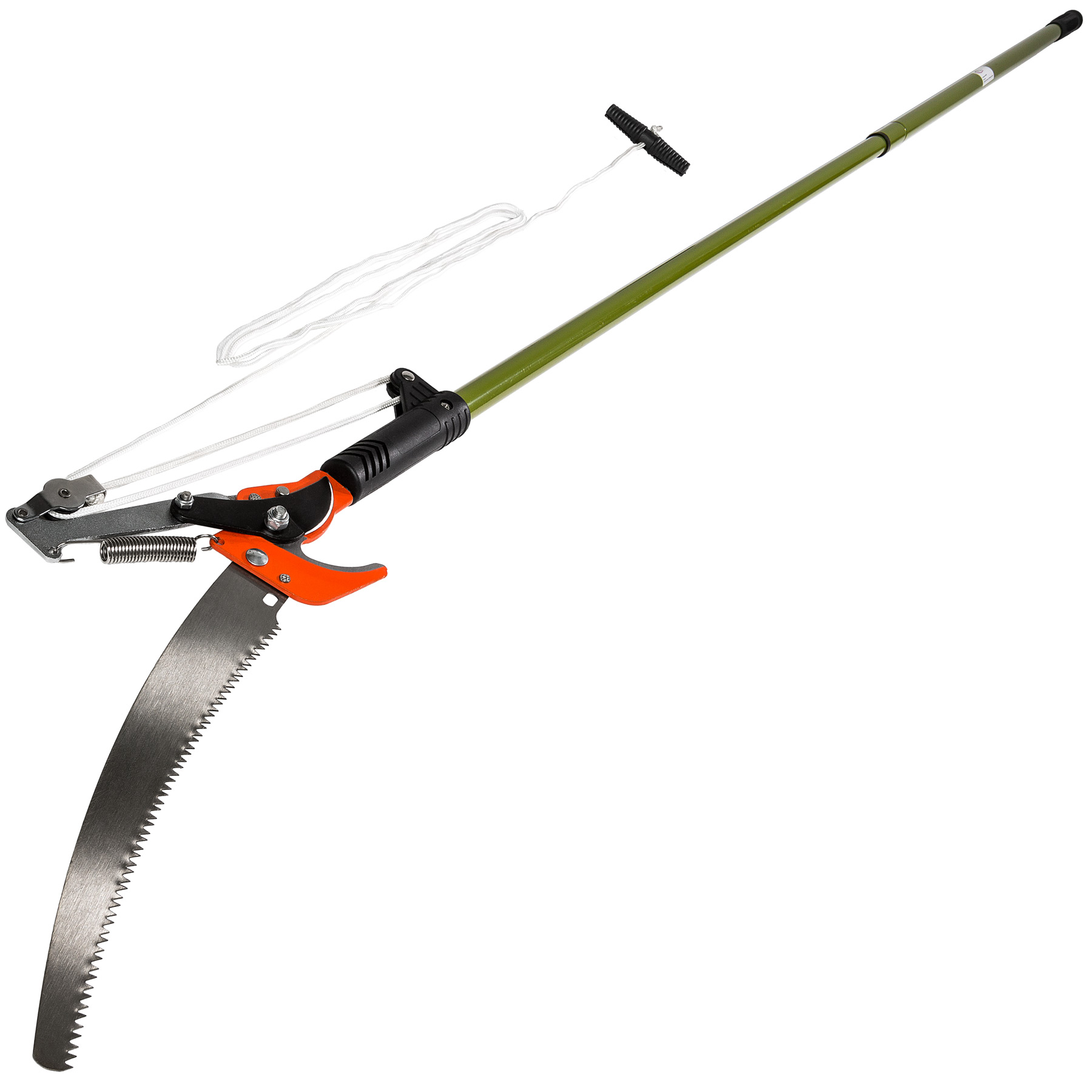 telescopic branch shears reach pruner extendable pruning tree saw garden tool ebay. Black Bedroom Furniture Sets. Home Design Ideas