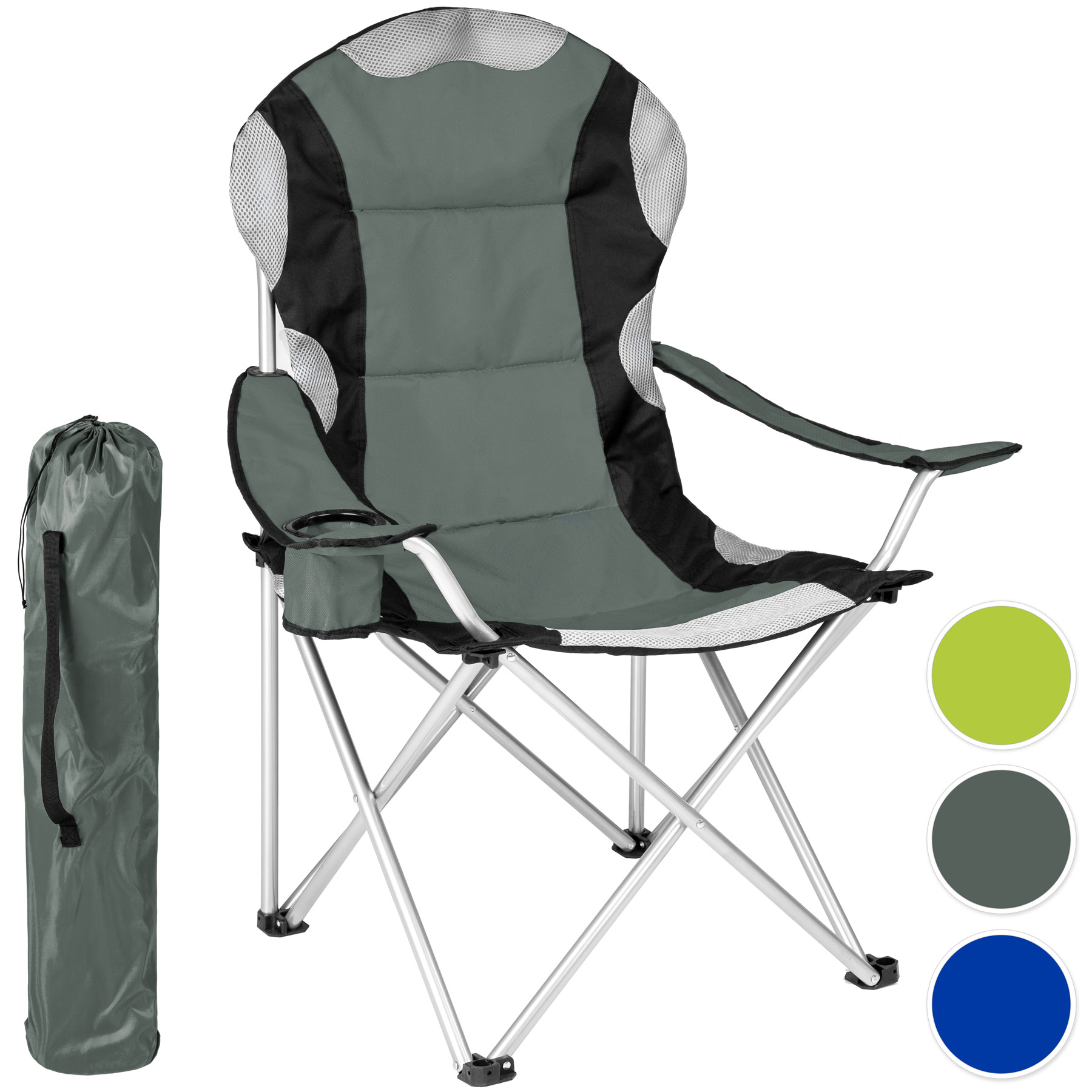 chaise de camping pliante avec housse fauteuil de camping pliable siege de plage. Black Bedroom Furniture Sets. Home Design Ideas