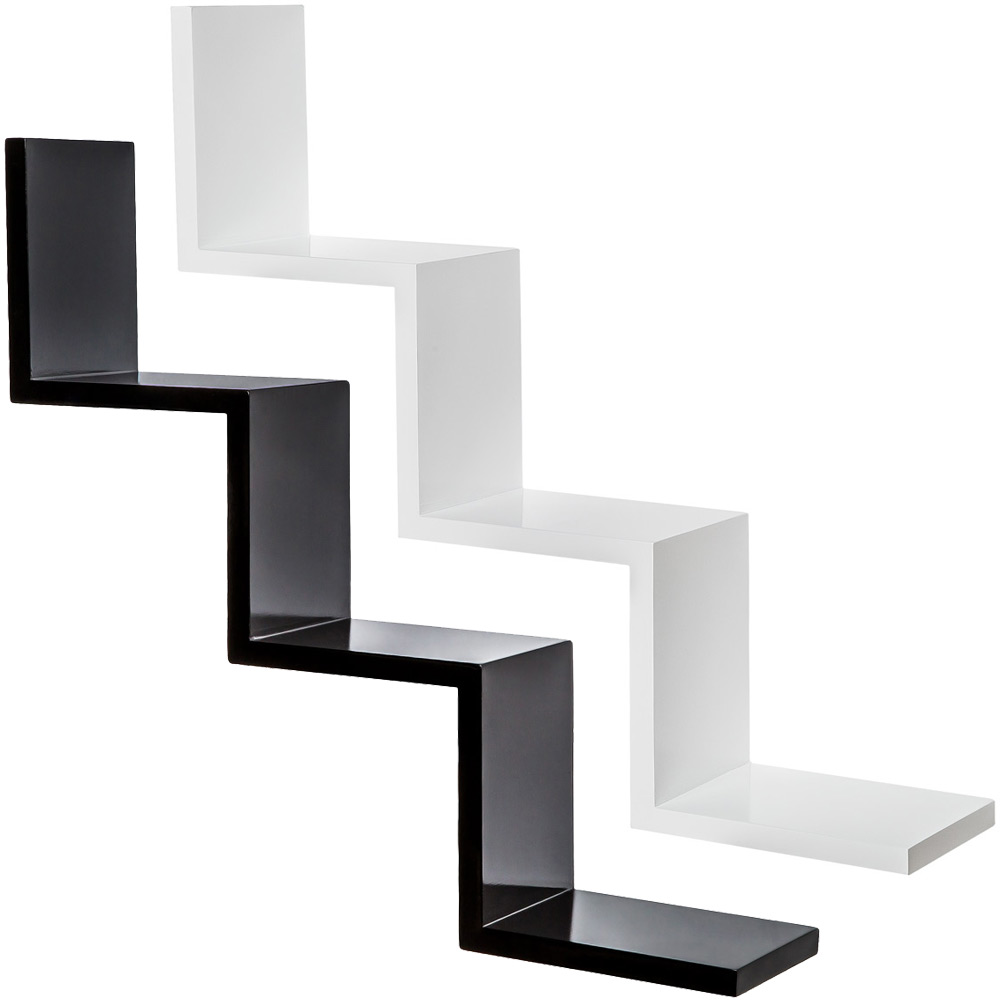 ikea etagere murale zig zag. Black Bedroom Furniture Sets. Home Design Ideas