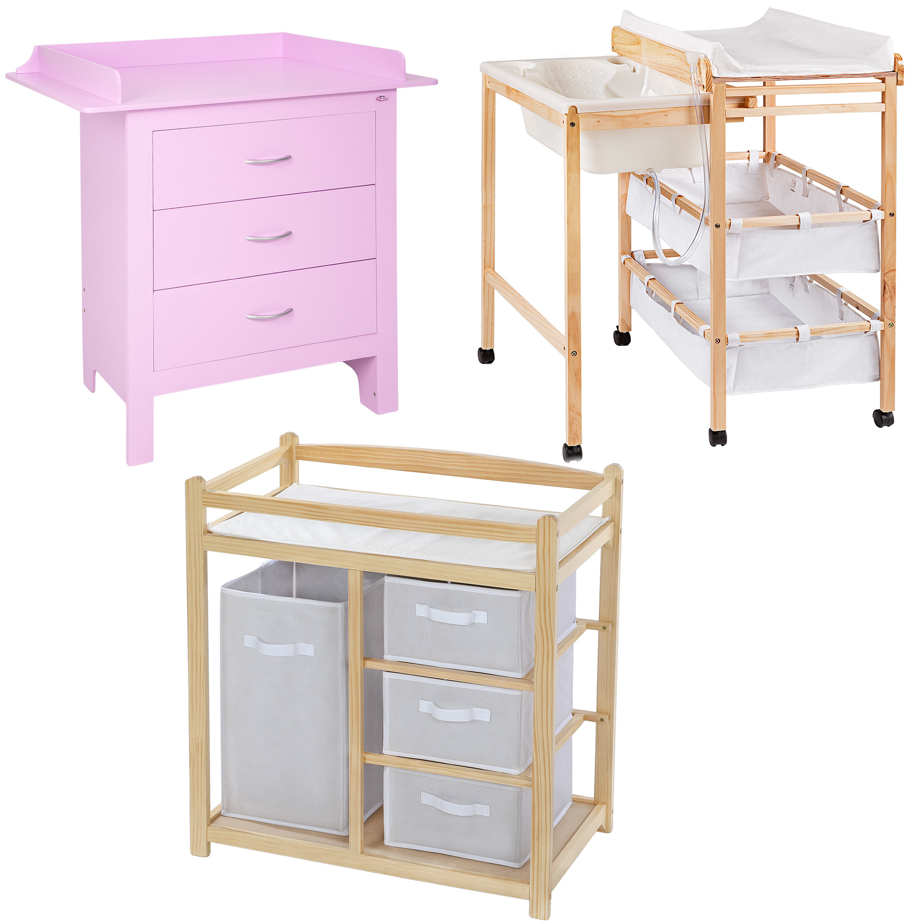 Baby chest of drawers with changing table baby nursery Nursery chest of drawers with changer