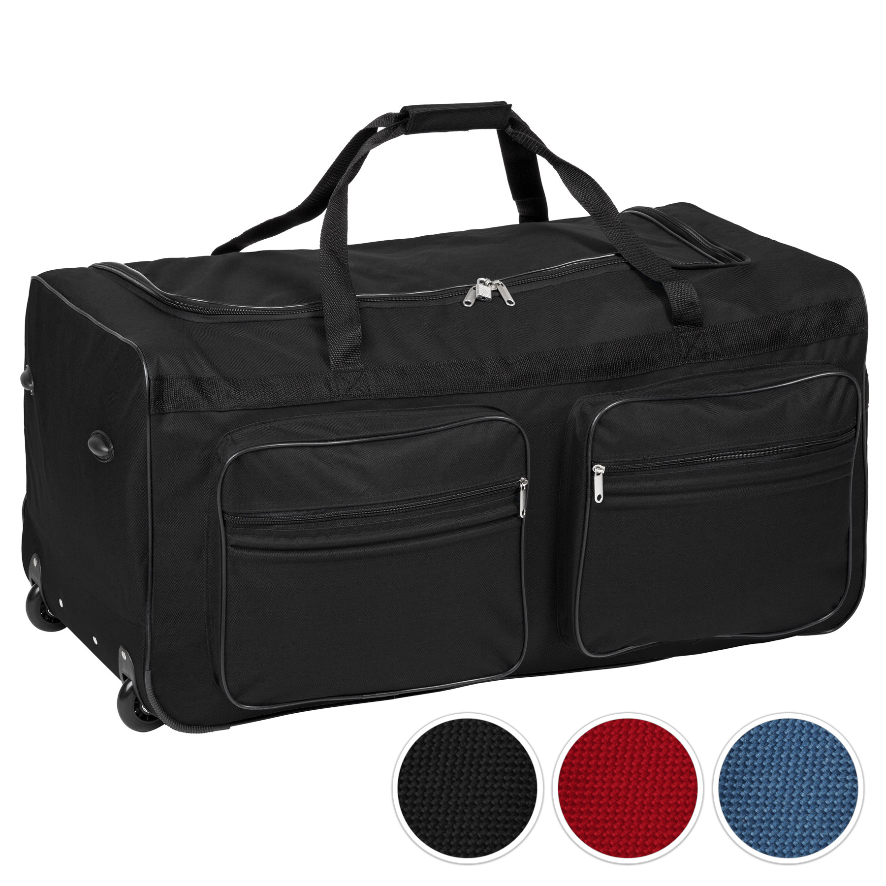 sac de voyage xxl valise trolley l g re sport bagage roulettes 160 litres ebay. Black Bedroom Furniture Sets. Home Design Ideas